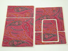 POLAROID SX-70 Alpha 1 2 Polaskinz Paisley Nappa leather rosa pink Leder prime