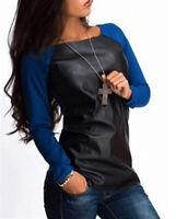 Maglia Donna Top Manica Lunga Woman Long Sleeve Top T-shirt 561022