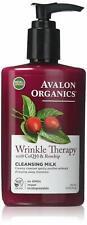 Avalon Organics Wrinkle Therapy Cleansing Milk, 8.5 oz.