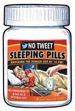 GPK Garbage Pail Kids Disgrace #94 Trump No Tweet Sleeping Pills Wacky Packages