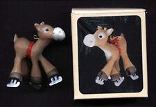 HALLMARK 1982 Christmas MERRY MOOSE Ornament w/ BOX