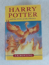 J. K. Rowling HARRY POTTER &THE ORDER OF THE PHOENIX Bloomsbury 1st Canadian Ed