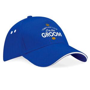 Groom Gift Hat Team Groom Keepsake Baseball Cap Hen Do Hen Night Party Hat