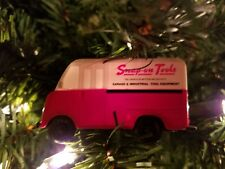 (ONE) Vintage 2002 Snap-On Tools Step Van Truck Holiday Christmas Ornament