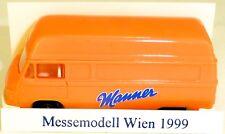 Manner MODELLO PUBBLICITARIO X Fiera Internazionale per Vienna 1999 IMU Hanomag