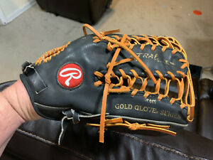 Rawlings Heart of the Hide PRO-TB24 Baseball Glove 12.75 HOH Made in USA Relaced