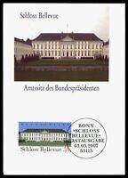 BUND MK 2007 SCHLOSS BELLEVUE PRIVATE !! MAXIMUMKARTE MAXIMUM CARD MC CM by98