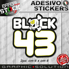 Adesivi Sticker BLOCK KEN 43 RALLY CROSS FORD CUSTOM DC HOONIGAN HOLLYWOOD