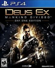 Deus Ex: Mankind Divided - Day One Edition Sony PS4 gratis other game video