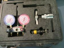 Yellow Jacket Ritchie Titan Manifold,flaring tool,cutter, hoses,gauges R-410A