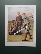 GOLF PRINT -  THE TRIUMVIRATE