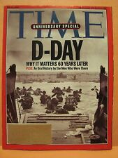 TIME MAGAZINE MAY 31 2004 D-DAY ANNIVERSARY SPECIAL D DAY ISSUE 5 31 2004