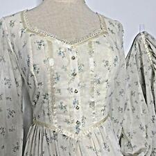 New listing Vintage Gunne Sax Maxi Prairie Dress 70's Hippie size 7 New without Tags