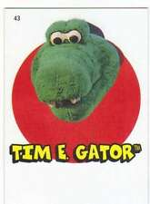 2016 Topps Heritage Minor League 1967 Topps Sticker #43 Tim E. Gator
