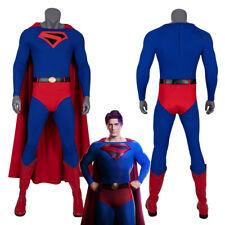 Superman Costume Cosplay Suit Clark Kent Crisis on Infinite Earths