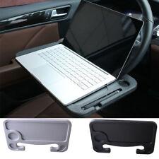 Car Vehicle Table Computer Desk Steering Wheel Seat Back Cup Holder Mounts Black
