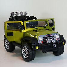 Jeep Style Kids Ride on Battery Powered Electric Car with Remote Control