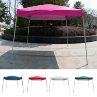 10' x10'Outdoor Slant Leg EZ Pop Up Canopy Wedding Party Tent Folding Gazebo