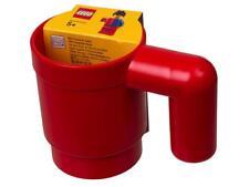PRONTA CONS. - LEGO 851400 TAZZA GRANDEZZA NATURALE ROSSA MUG RED - IDEA REGALO