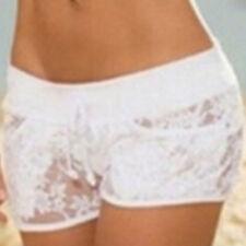 Sexy Women Lady Safety Hot Pants & Bra Tops Casual Shorts High Waist Short Beach