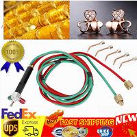 Hot Jewelry Jewelers Micro Mini Gas Little Torch Welding Soldering kit 5 tips US