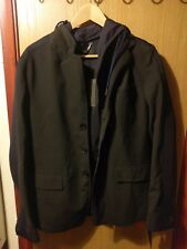 Diesel Black GlodBlack & Navy Hooded Blazer Size S (Mens)
