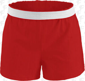 Soffe Womens Cheerleading Dance Gym Shorts 15 Colors XS - 3XL w Free Shipping