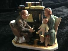 """Norman Rockwell's """"The Annual Visit"""" Figurine 1982"""