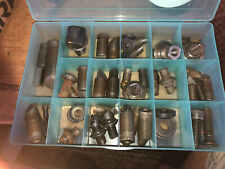 Large Lot Of Machinist Boring Tools And Other Items. See Pics