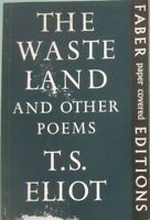THE WASTE LAND and other poems - T.S. Eliot - FABER 1971 - H7