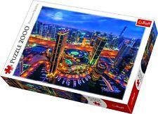 Trefl 2000 Piece Adult Large Image Lights Of Dubai Night Sea Jigsaw Puzzle NEW