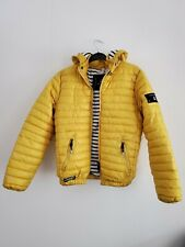 Voile Bleue  Coat Jacket  Padded  Hooded Yellow   14 Years