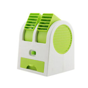 DC 5V Portable USB Rechargeable Water Cooler Cooling Fan Desk Mini Air Condition