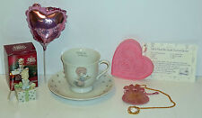 Precious Moments Lot of 5 Items Necklace, Box, Cup & Saucer, Cookie Cutter +