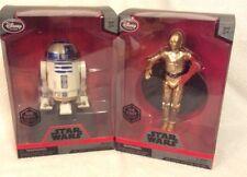 Star Wars Elite Series Die Cast R2-D2 & C-3PO Figures Disney Exclusive NIB GIFT