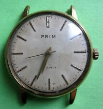 PRIM  WATCH  MADE  IN  CZECHO SLOVAKIA  WORKING