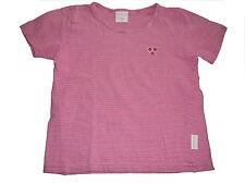 Schiesser tolles T-Shirt Gr. 128 rosa gestreift !!