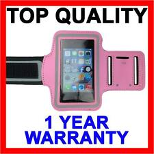 PINK Sports Gym Running Exercise Cover Armband for Apple iPhone SE 5S 5C 5 4S 4