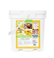 Lindon Farms 120 Servings ENTREE Food Storage Bucket / Emergency Camping