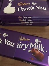 6 x Cadbury Dairy Milk Large Chocolate Bars 200g Thank You Gift Present
