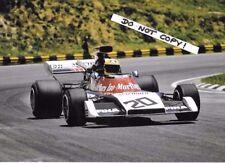 7x5 Photograph, Nanni Galli , Williams FX3B  Brazilian GP Interlagos 1973