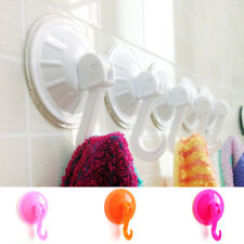 5x Removable Bathroom Kitchen Wall Strong Suction Cup Hook Hangers Vacuum Sucker