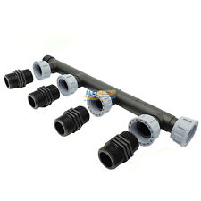"""Tavlit 1"""" Swivel Irrigation Solenoid Valves Manifold  4 outlets With 1"""" Nipples"""