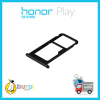 CARRELLO PORTA SCHEDA SIM HONOR PLAY COR-L29 -TL10 CARRELLINO MICRO CARD SD NERO