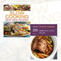 Hamlyn All Colour Cookbook 2 Books Collection Set,200 Slow Cooker Recipes NEW PB