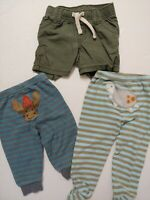 Baby Boys Size 3 6 9 Month Clothes Lot Bottoms Shorts Carters Old Navy