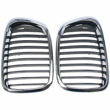 2x Front Bumper Grilles Grills For BMW 5-Series E39 M5 525i 528i 530i 540i 95-03