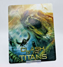 CLASH OF THE TITANS - Glossy Bluray Steelbook Magnet Cover NOT LENTICULAR
