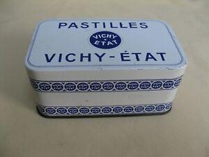 Ancienne boite publicitaire en tôle - Pastilles VICHY - ETAT -  Très bon état