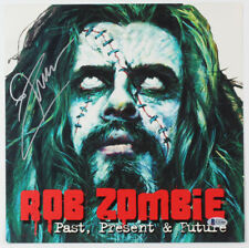"Rob Zombie Signed ""Past, Present, Future"" Album Cover Photo (Beckett COA)"